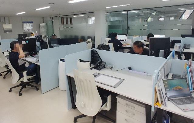 서울 본사 업무공간
