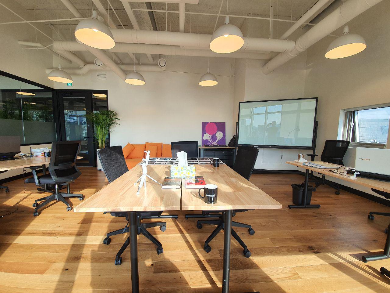 사무실(위워크 디자이너클럽)