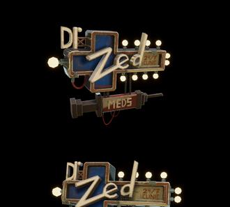 Dr. Zed's clinic