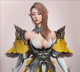 butterfly_elf_엘프 여성