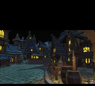 the full moon village