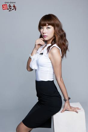 레이싱모델김시연`웹춘추`모델활동