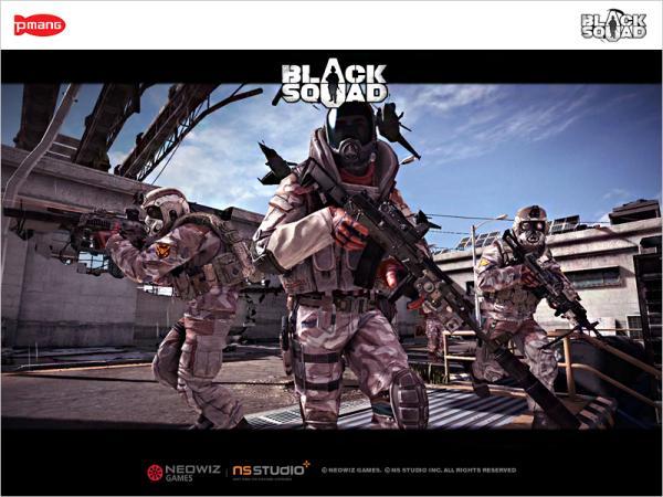 네오위즈FPS`블랙스쿼드`CBT