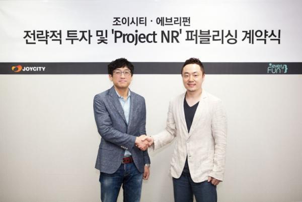 조이시티`프로젝트NR`퍼블리싱계약