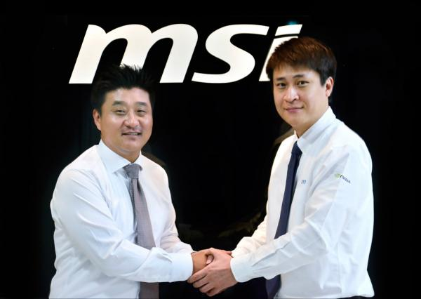 MSI,반석전자와유통계약체결