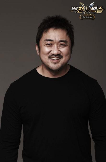 배우마동석`백전백승`모델선정