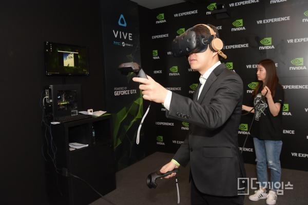 엔비디아`VR익스피리언스데이`마무리