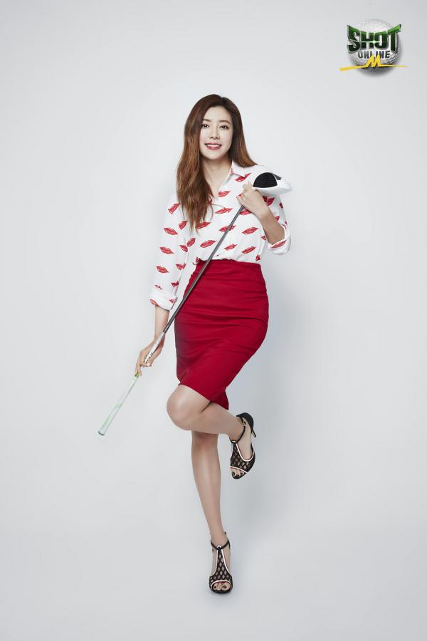 웹젠`샷온라인M`박한별홍보모델발탁