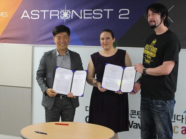 SF전략`아스트로네스트`비상채비