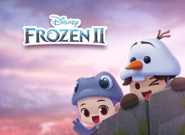 '디즈니 팝' 겨울왕국 IP 활용한 업데이트 실시
