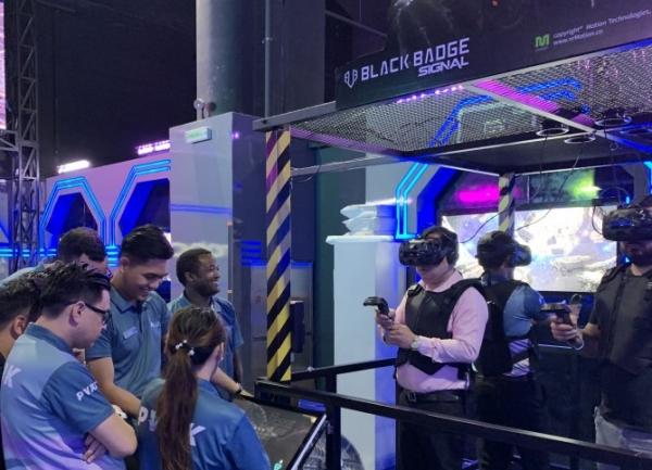 모션테크놀로지, 두바이몰 VR파크 입점
