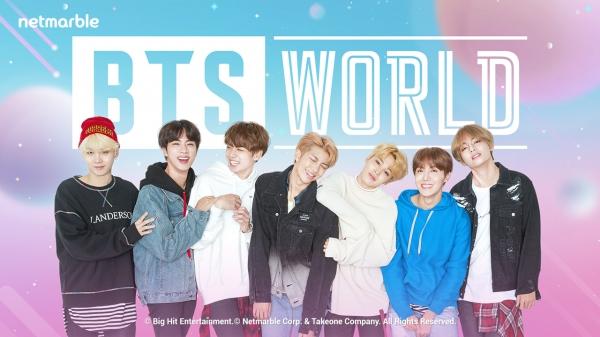넷마블, `BTS 월드` 글로벌 사전예약