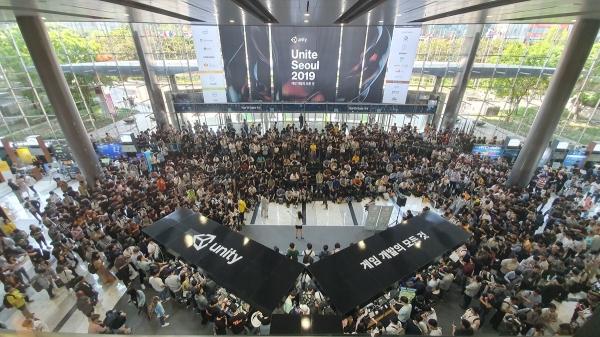 `유나이트 서울` 이틀간 5000명 몰려