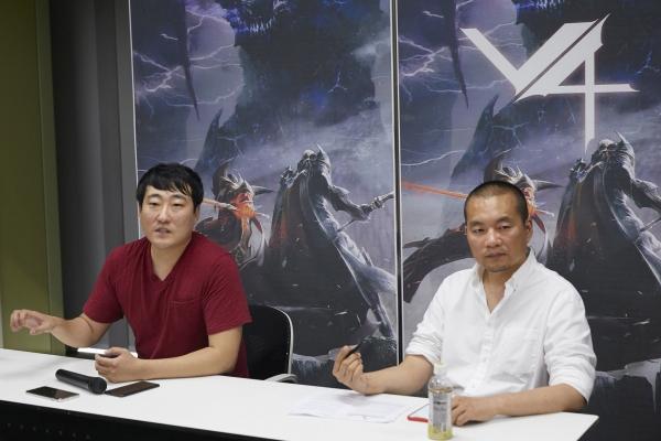 넥슨, 신작 모바일 MMORPG 'V4' 첫 공개