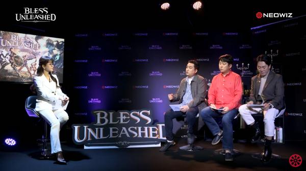 """``블레스 언리쉬드`는 액션에 집중한 MMORPG"""""""