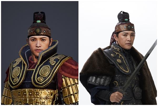 `미르4` 캐릭터로 재탄생한 배우들은?