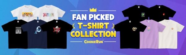 데브시스터즈 쿠키런 티셔츠 예약판매