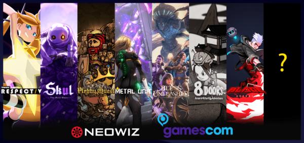 네오위즈`게임스컴`에 8개 작품 선보여
