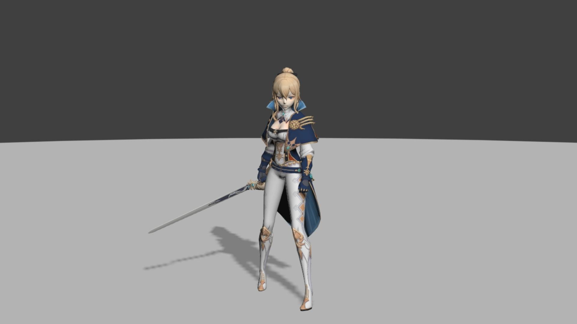3D 키 애니메이션 포트폴리오 04