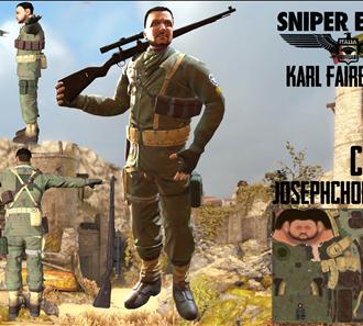 Sniper Elite 4 Karl Fairburne
