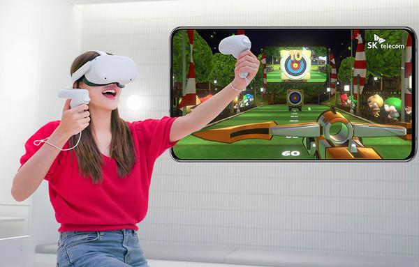 SKT, VR 게임 시장 저변 확대할까