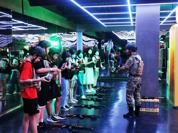 中 광저우에 개장한 '크로스파이어' 테마파크