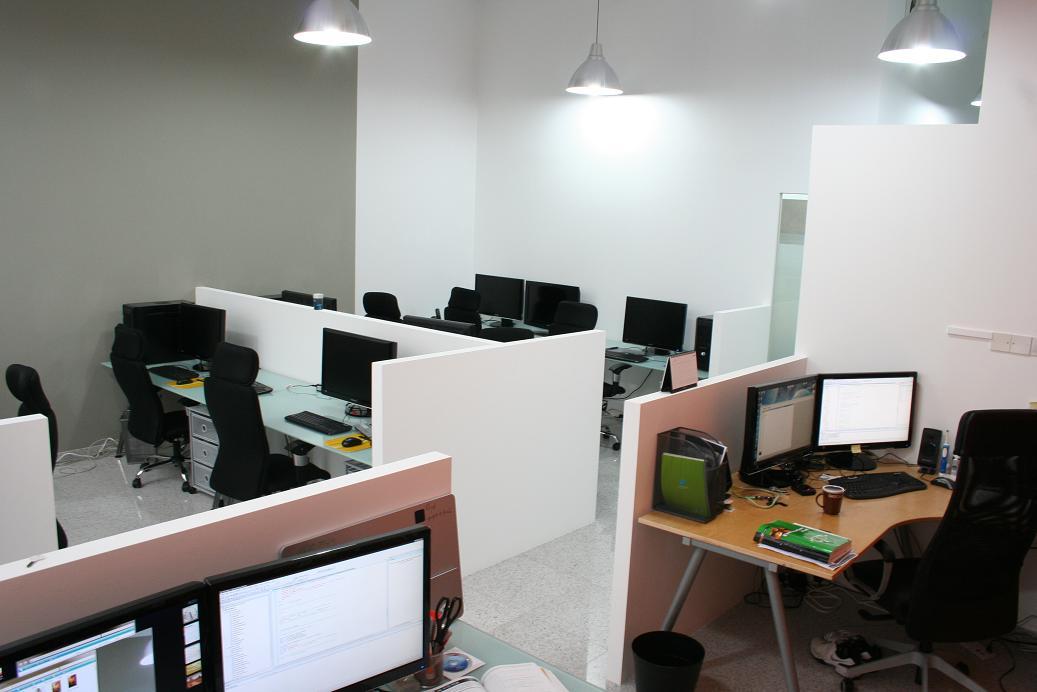 사무실 내부 모습