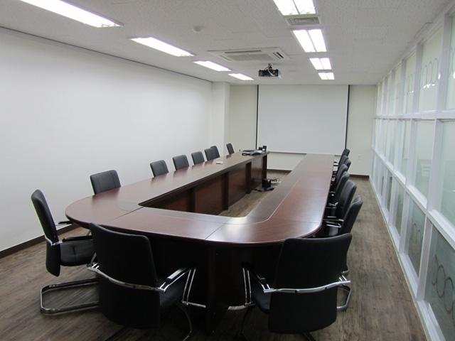 회의실입니다.