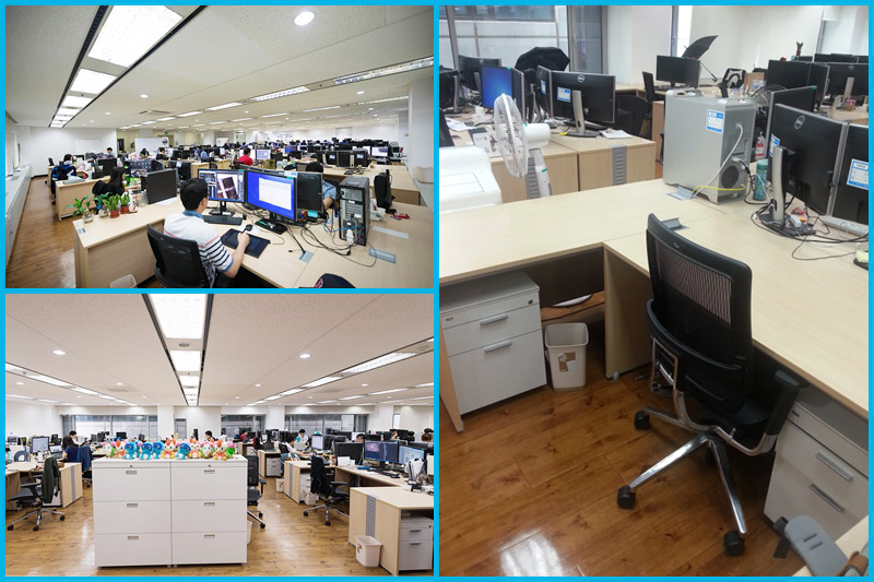 사무실 및 개인공간