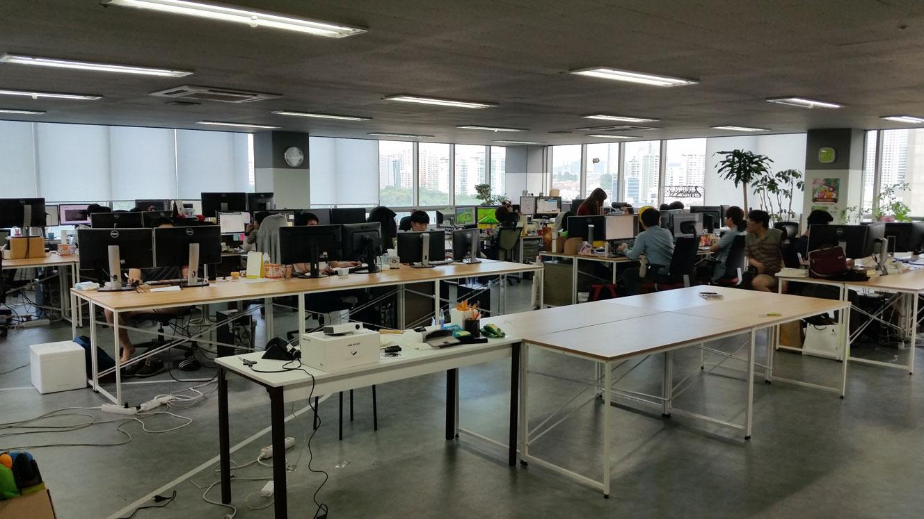 넓은 사무실
