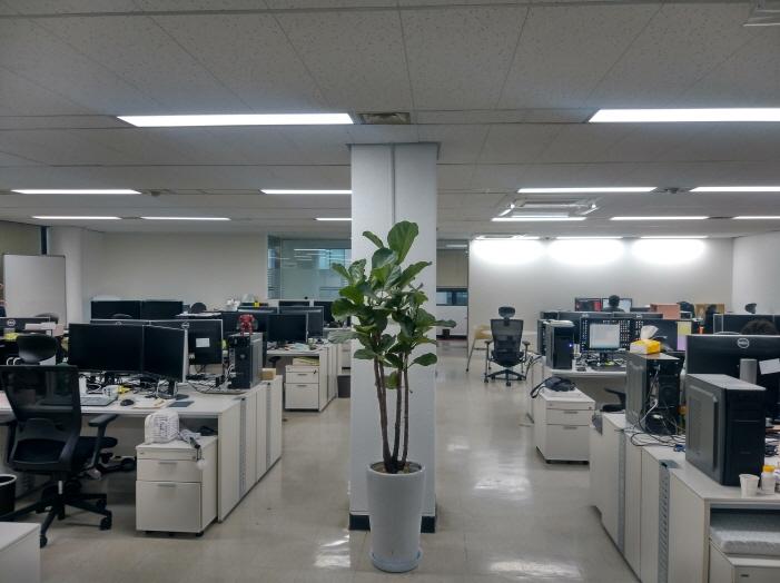 사무공간 - 모바일개발실