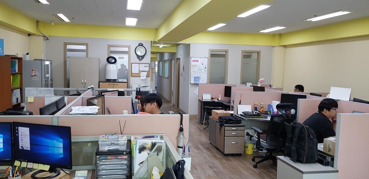 본사 사무실 전경