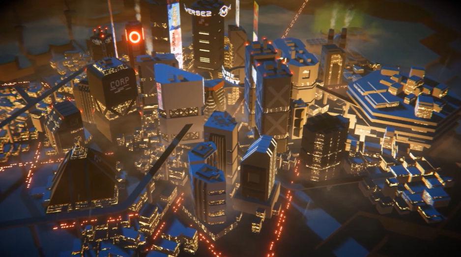 메타버스2 게임 화면